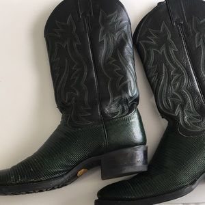 Other - Men's Justin Western Lizard Boots